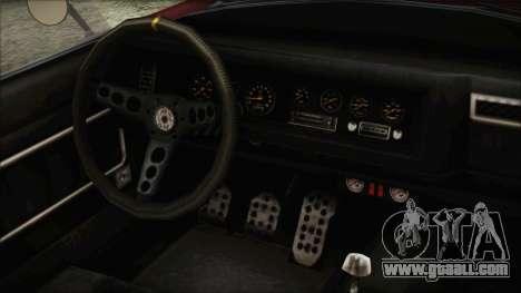 GTA 5 Declasse Mamba IVF for GTA San Andreas right view