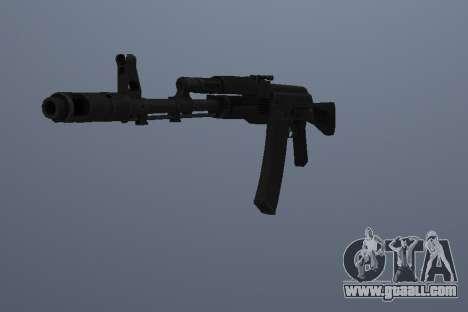 AK-74M for GTA San Andreas second screenshot