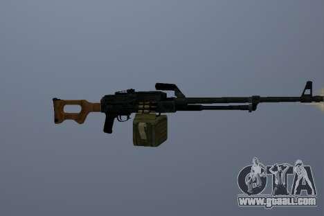 The Kalashnikov Machine Gun for GTA San Andreas