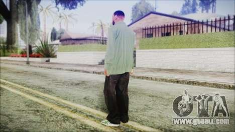 GTA 5 Grove Gang Member 1 for GTA San Andreas third screenshot