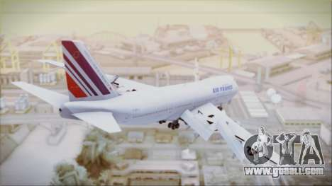 Boeing 747-128B Air France for GTA San Andreas left view