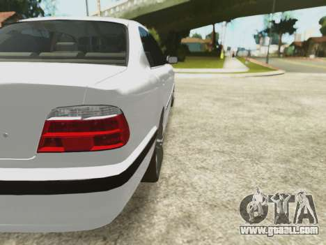BMW 750i for GTA San Andreas upper view