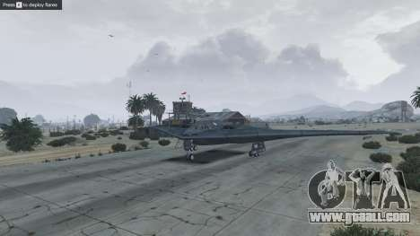 GTA 5 B-2A Spirit Stealth Bomber ninth screenshot
