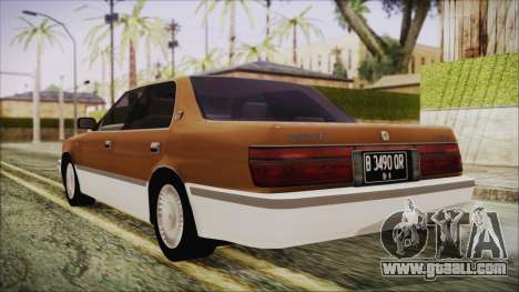 Toyota Crown Royal Saloon 1994 for GTA San Andreas left view