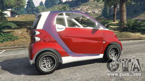 GTA 5 Smart ForTwo 2012 v0.1 rear right side view