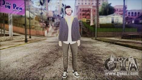 GTA Online Skin 13 for GTA San Andreas second screenshot