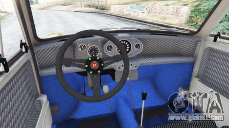 GTA 5 Mini Cooper S 1965 rear right side view