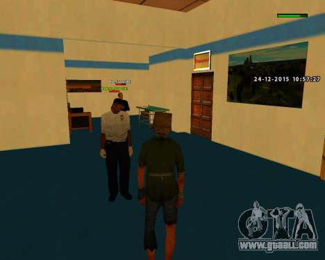 Good build quality skins MES for GTA San Andreas second screenshot