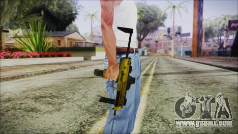 Point Blank MP7 Gold Special for GTA San Andreas third screenshot