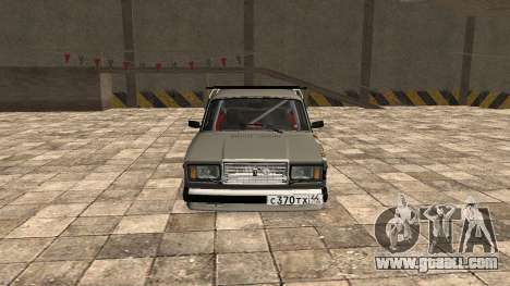 VAZ 2107 JDM for GTA San Andreas left view