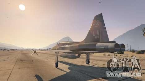 GTA 5 Northrop F-5E Tiger II USA third screenshot