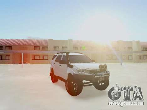 Toyota Fortuner 2012 TRD Off-Road for GTA San Andreas