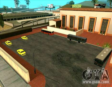 Parked vehicles for GTA San Andreas
