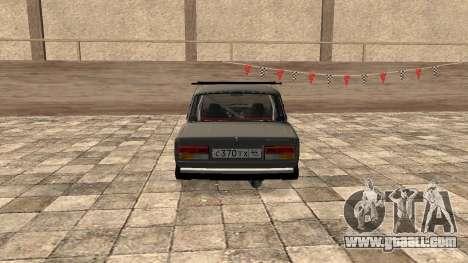 VAZ 2107 JDM for GTA San Andreas back left view