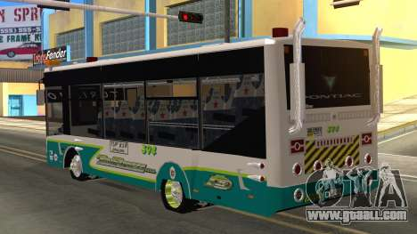Lazcity Midibus Stylo Colombia for GTA San Andreas left view
