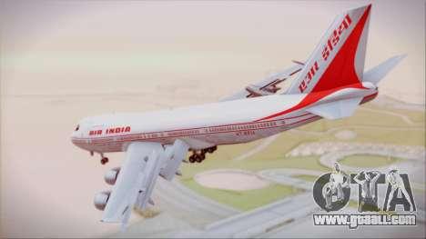 Boeing 747-237Bs Air India Krishna Deva Raya for GTA San Andreas left view