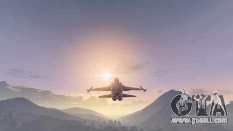 GTA 5 Northrop F-5E Tiger II USA fifth screenshot