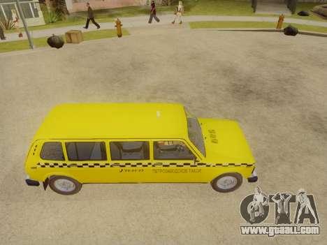 VAZ 2131 7-Door Taxi for GTA San Andreas right view