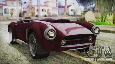 GTA 5 Declasse Mamba IVF for GTA San Andreas
