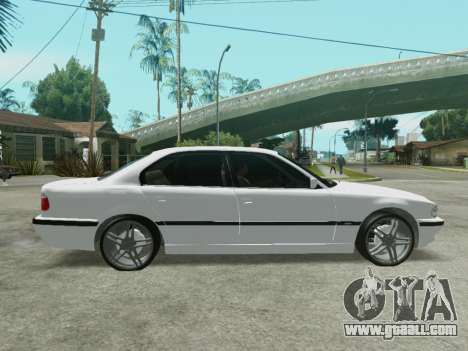 BMW 750i for GTA San Andreas left view