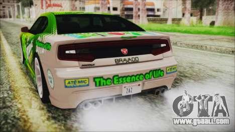 GTA 5 Bravado Buffalo Sprunk for GTA San Andreas upper view