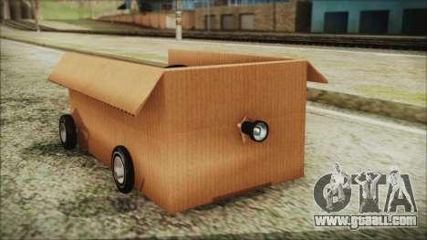Kart-Box for GTA San Andreas right view