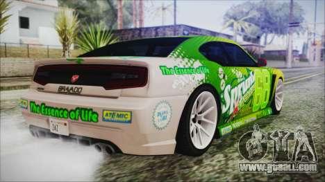GTA 5 Bravado Buffalo Sprunk for GTA San Andreas left view