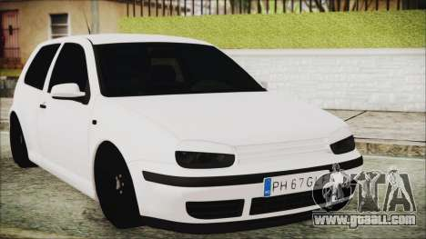 Volkswagen Golf 4 Romanian Edition for GTA San Andreas