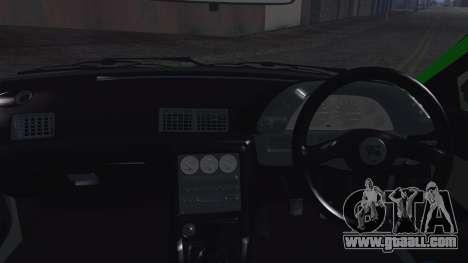 Nissan Skyline R32 Rocket Bunny for GTA San Andreas inner view