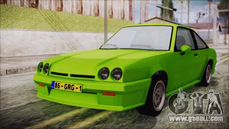 Opel Manta New Kids HQ for GTA San Andreas