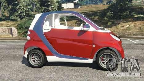 GTA 5 Smart ForTwo 2012 v0.1 left side view