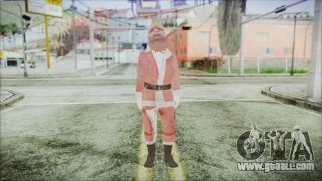 GTA 5 Santa African American for GTA San Andreas second screenshot