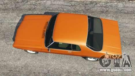 GTA 5 Holden Monaro GTS back view