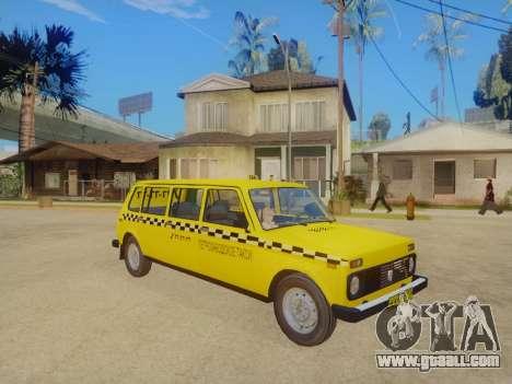 VAZ 2131 7-Door Taxi for GTA San Andreas left view