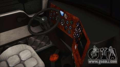 Mack Pinnacle v1.0 for GTA San Andreas right view