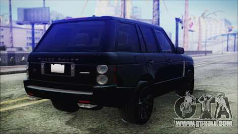 Range Rover Sport for GTA San Andreas left view