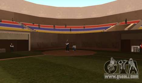 Baseball for GTA San Andreas third screenshot