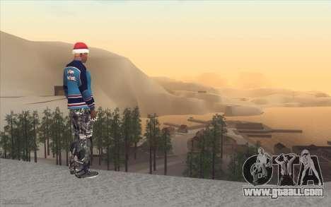 Winter Vacation 2.0 SA-MP Edition for GTA San Andreas