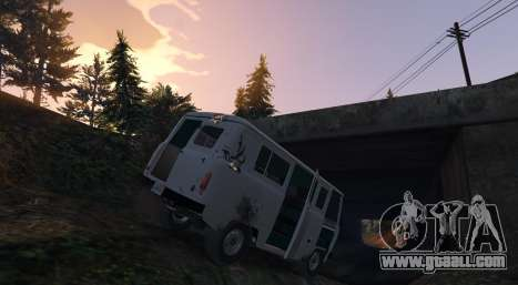 GTA 5 UAZ 3962 [BETA] 1.2 left side view