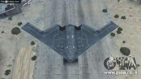 GTA 5 B-2A Spirit Stealth Bomber