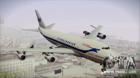 Boeing 747-283BM Scandinavian Airlines for GTA San Andreas