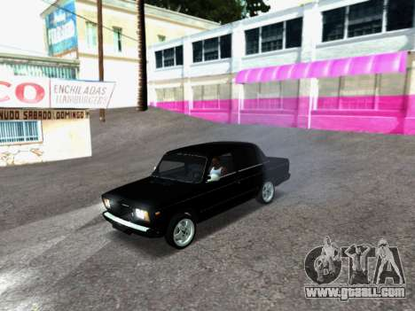 VAZ 2107-107 for GTA San Andreas left view