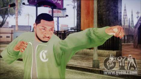 GTA 5 Grove Gang Member 1 for GTA San Andreas