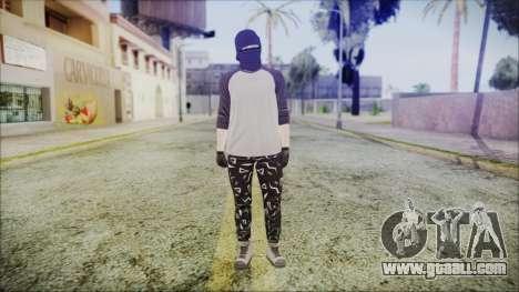 GTA Online Skin 8 for GTA San Andreas second screenshot