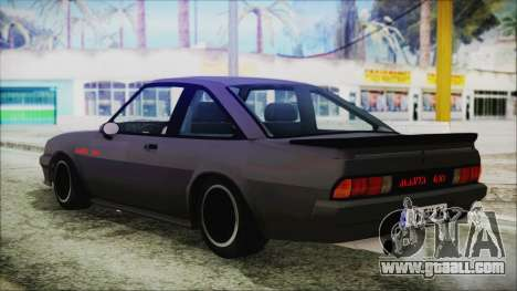Opel Manta GSi Exclusive for GTA San Andreas left view