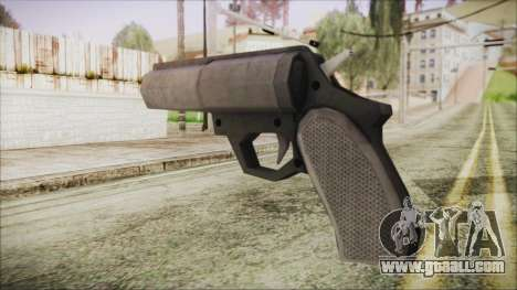 GTA 5 Flare Gun - Misterix 4 Weapons for GTA San Andreas second screenshot