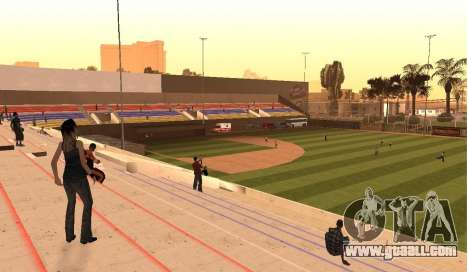 Baseball for GTA San Andreas