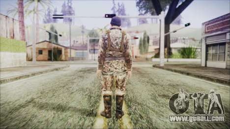 World In Conflict Malashenko Winter for GTA San Andreas third screenshot