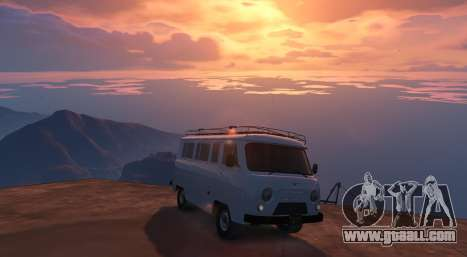 GTA 5 UAZ 3962 [BETA] 1.2 rear left side view