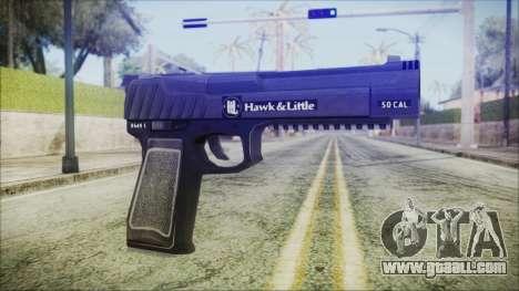 GTA 5 Pistol .50 v2 - Misterix 4 Weapons for GTA San Andreas